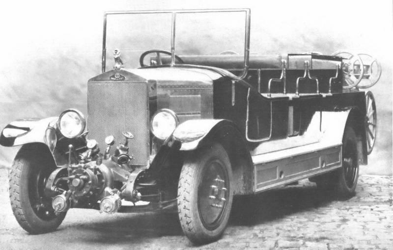 1928 graef & stift feuerwehr mannschaftswagen