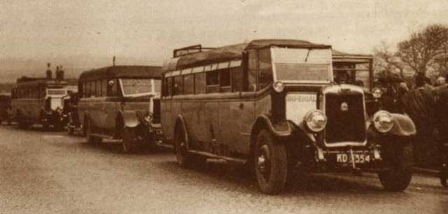 1928 Leyland Tiger KD 5296 Harrington