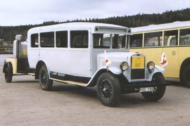 1930 Buss tillverkad av Hägglund & Söner 1930
