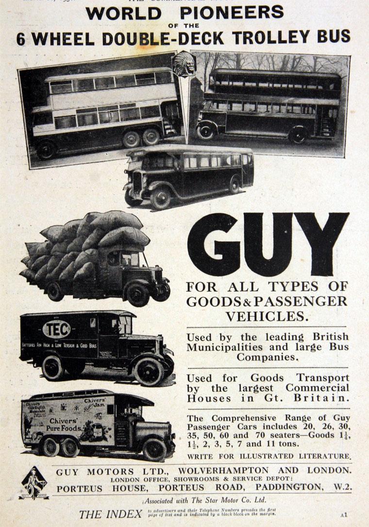 1930 Guy Motors