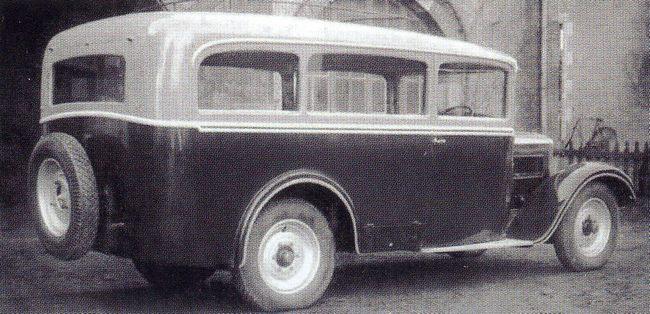 1930 heuliez Citroën 23