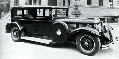 1931 Gräf und Stift SP8 Pullman Limousine