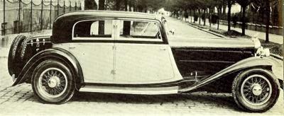 1932 Gräf und Stift SP8 Sport Coupe
