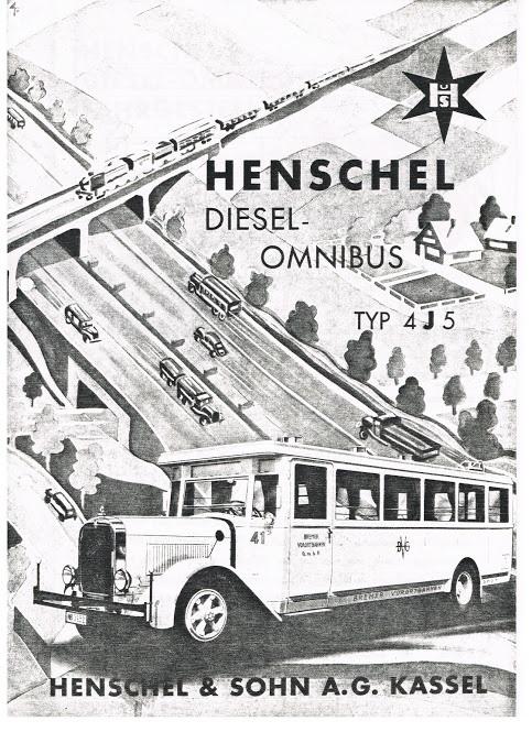 1934 HENSCHEL Typ 4J5 (XII 176 5 11 1934)