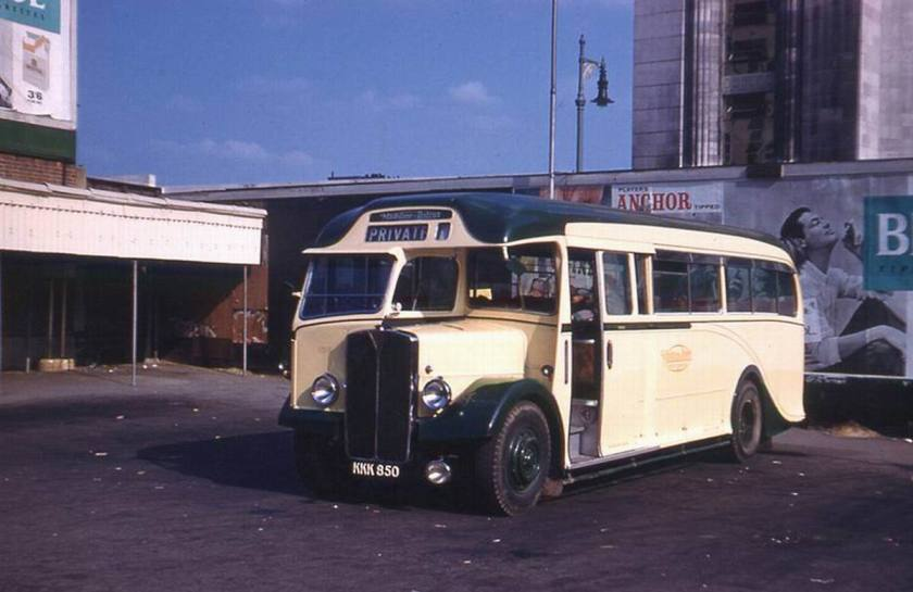 1935 AEC Regal III with Harrington C32 F Body