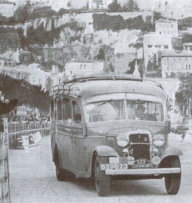 1935 Ford V8 Hainje B-20623 Rally Monte Carlo