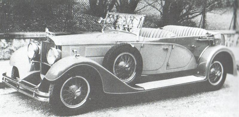 1935 Gräf & Stift SP 8 Sport-Phaeton 4 portes