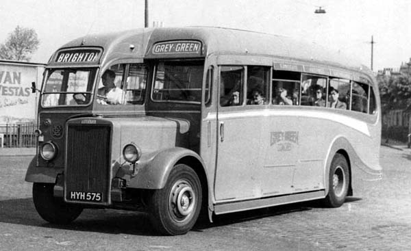 1935 Harrington Half Cab Gives Way To The Full Front hyh 575