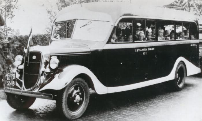 1936 Ford V8 Haninje