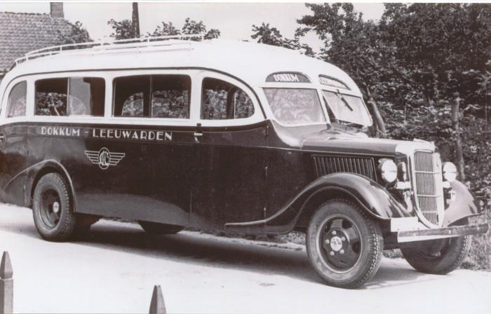 1936 Ford V8T carr. Hainje Heerenveen B-7387