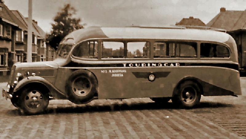 1937 Ford van Koopmans Jubbega met carroserie van Hainje