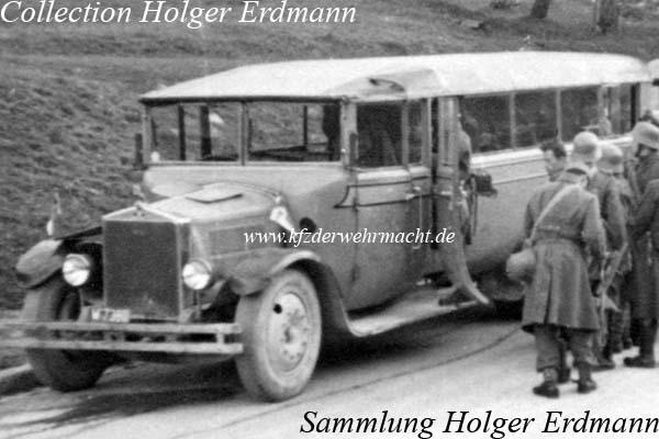 1937 Gräf & Stift V 6 Bus