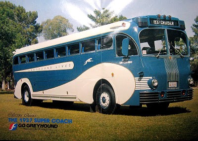 1937 Greyhound Yellow-Coach-719
