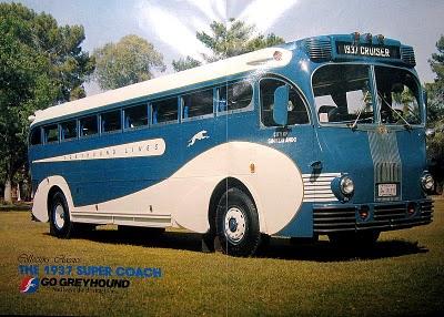 1937 Greyhound Yellow-Coach-719