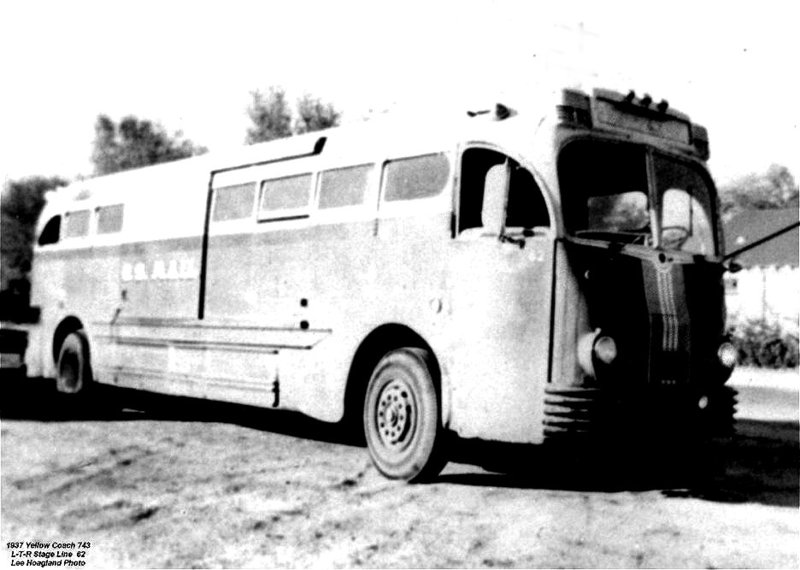 1937 Yellow Coach model 743-LTR-62 USMail