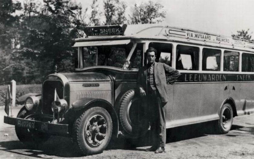 1938 Brockway Car Hainje