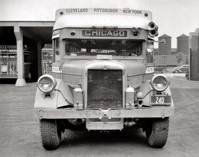 1938 GM Yellow coach bus