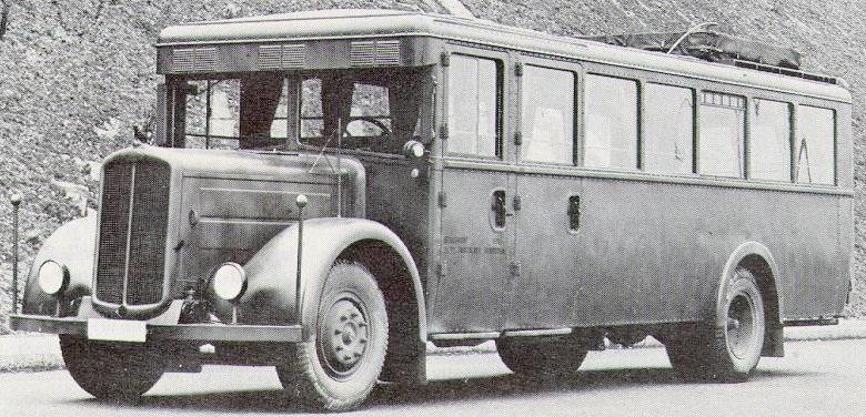 1938 Gräf & Stift Omnibus
