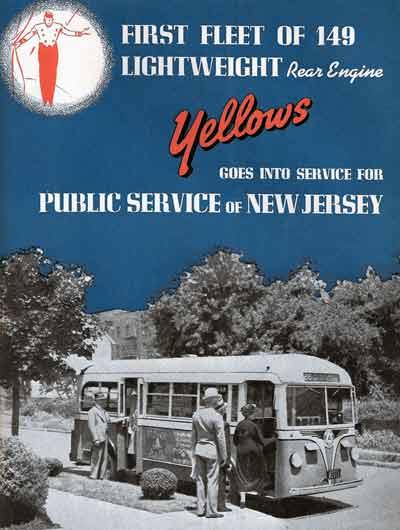 1938 Yellow Coach 1203