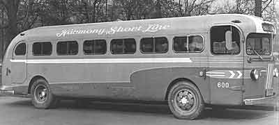 1938 Yellow Coach 2502 1