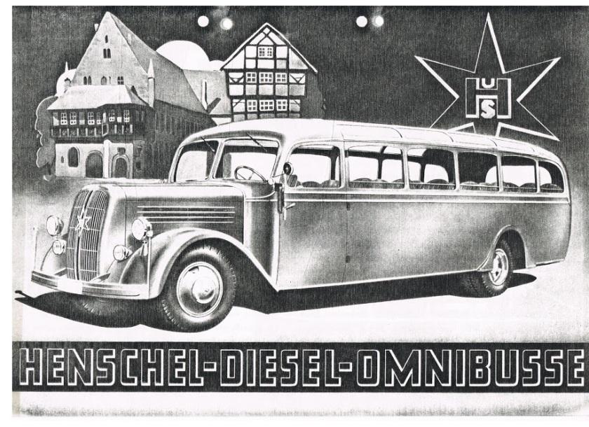 1939 HENSCHEL Typ 40S3N ((ABC 5-6)