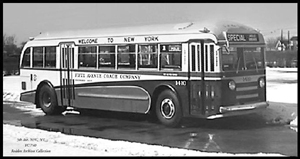 1939 Yellow Coach 740 Transit Bus