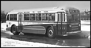 1939 Yellow Coach 740 Transit Bus