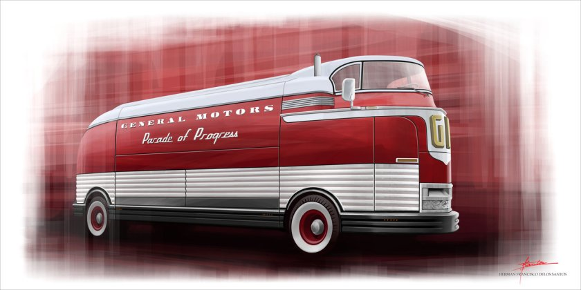1940 GM FUTURLINER by exoticdesignhds
