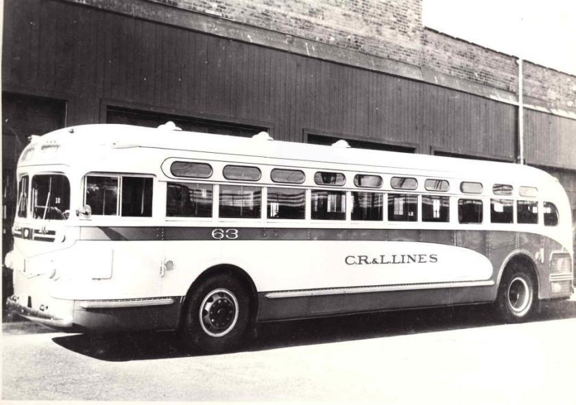 1940 Yellow Coach TD 4001