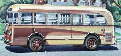 1940 Yellow Coach TG 2701