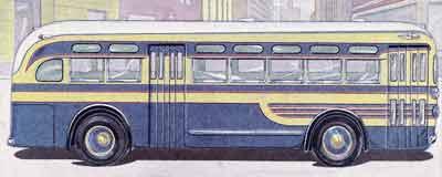 1940 Yellow Coach TG 3201