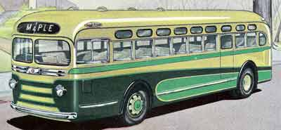 1940 Yellow Coach TG 3601