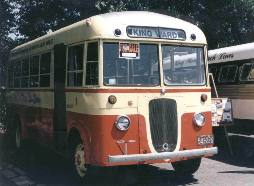 1940 Yellow Coach TG2101 Western Mass. 1