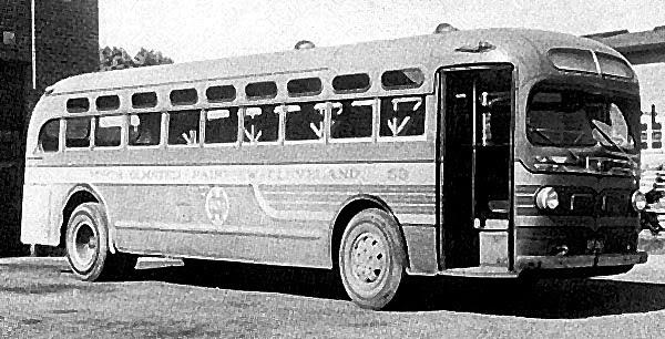 1941 GM Yellow Coach Model TG-3602