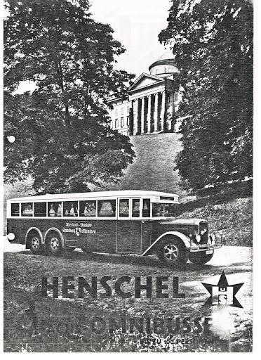 1942 HENSCHEL 4463 3achs omnibusse