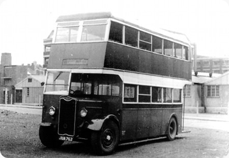 1943 Guy Arab I JUA762 Pickering H30 26R Re bodied ROE H31-25R (2)