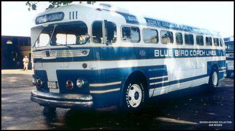1946 GM PDA-3703 OLEAN NY Blue Bird 111