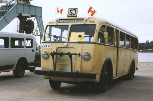 1946 Hägglund & Söner SJ Buss 112-C - 990508 Bengt Lindgren