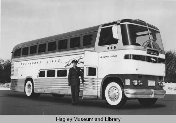 1947 GM Truck and Coach ran in test service for Greyhound until 1951 GREYHOUNDLOEWY