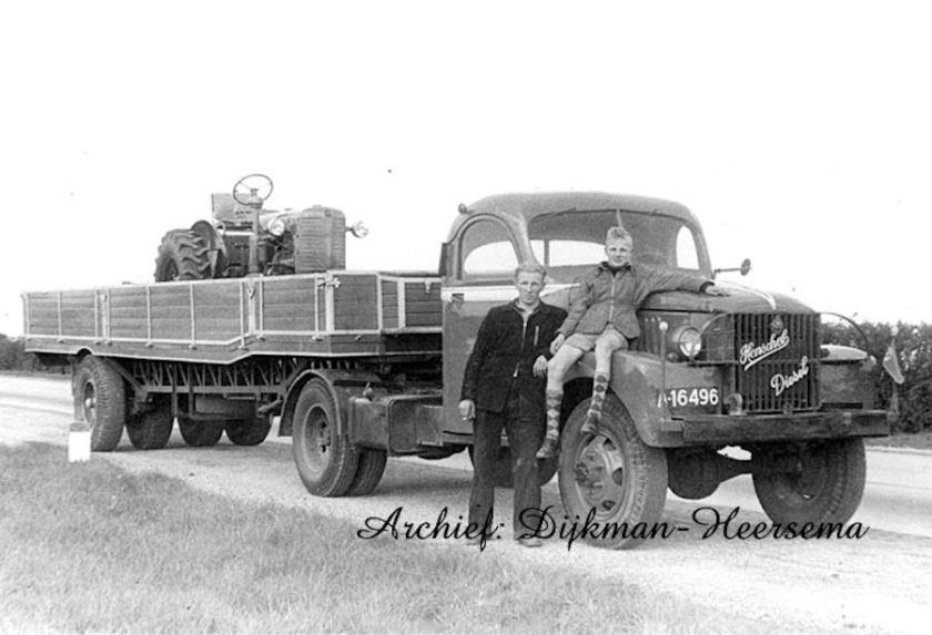 1948 GMC + Henschel motor