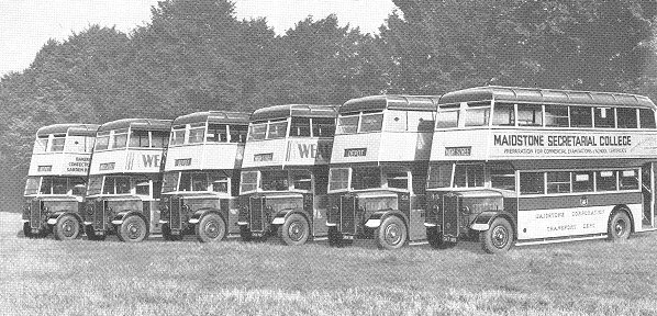 1948 Guy Arab Fleet of Maidstone Corporation Transport Department 26