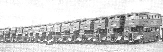 1948 Guy Arab Fleet of Newport Corporation Transport 24
