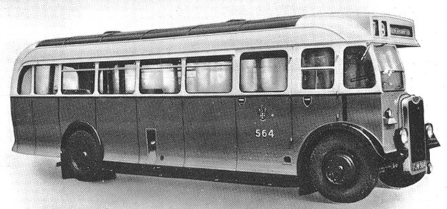 1948 Guy Arab single decker vehicle5