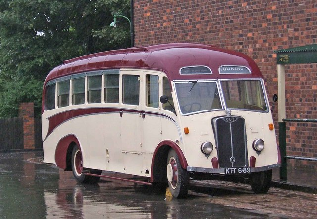 1948 Guy Vixen  coach