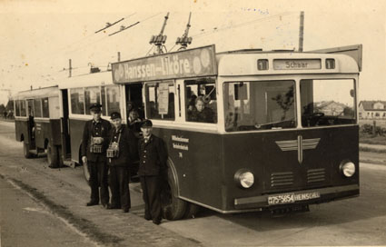 1948 o-bus henschel alt anhaenger 1955