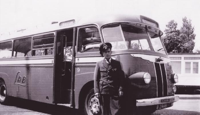 1948 Scania Vabis met een Hainje carrosserie