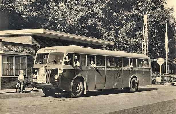 1948 Scania-Vabis nr. 61 met carrosserie van Hainje