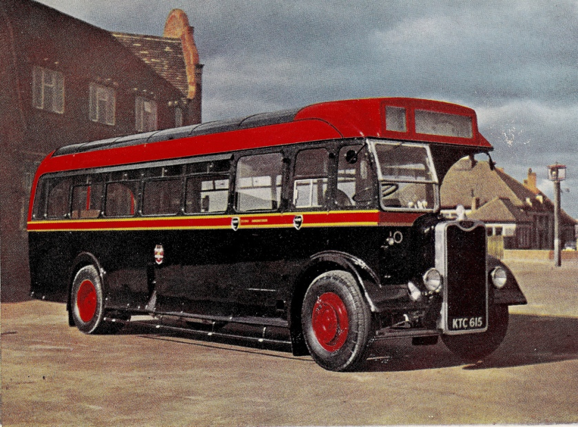 1949 Guy Arab III, fleet number 10 (KTC 615)