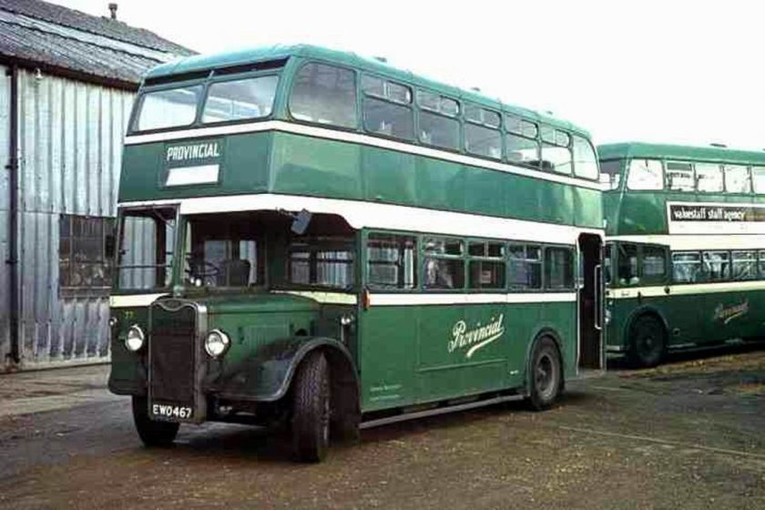 1949 Guy ArabIII-Brislington BusWorks