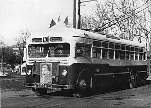 1949 Stalin op MTB-82 Trolleybus t100-70k GM